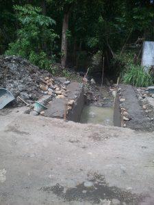 Perbaikan Jembatan dan Drainase Mbalong, serta Cor Jalan Dusun Wanasari