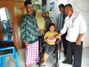 Bupati Pemalang Peduli Warga Cacat