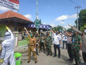 Kapolres Pemalang Canang Desa Siaga covid-19